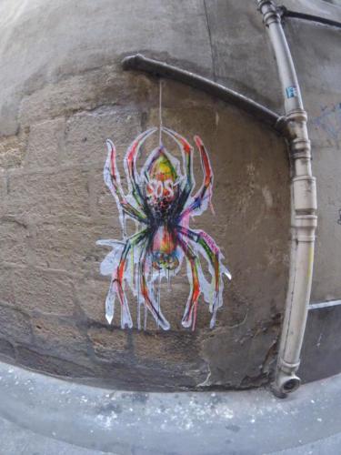 Araignée - Street Art (Paris, 2019)