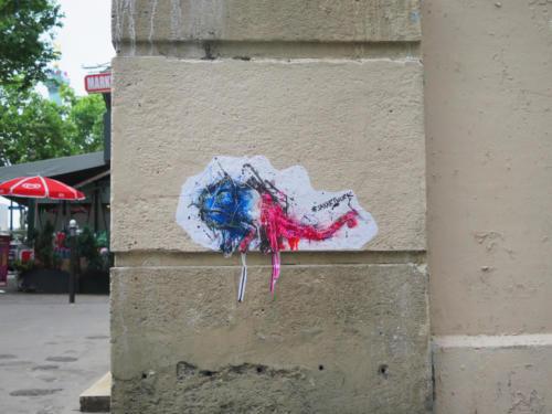 Caméléon - Street Art (Paris, 2019)