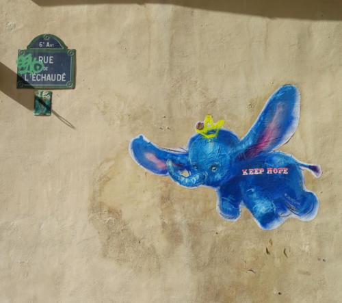 Dumbo - Street Art (Paris, 2019)