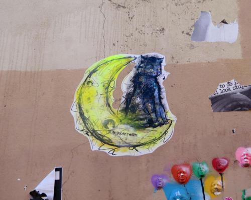 Chat de Montmartre - Street Art (Paris, 2019)
