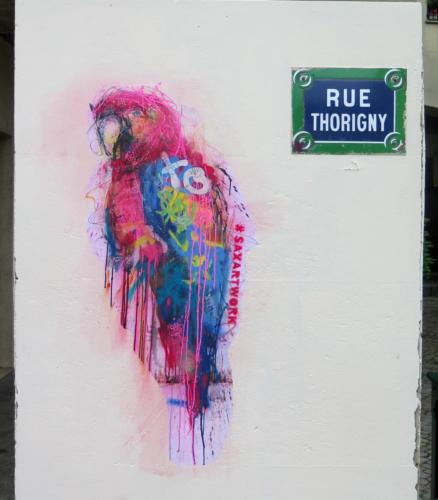 Ara - Street Art (Paris, 2019)