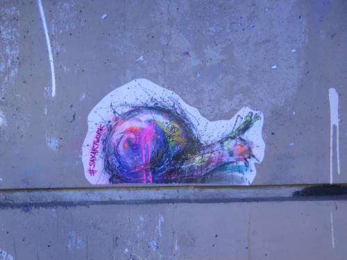 Escargot - Street Art (Paris, 2019)