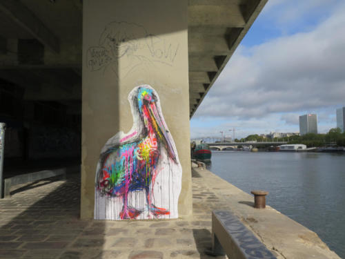 Pélican - Street Art (Paris, 2019)