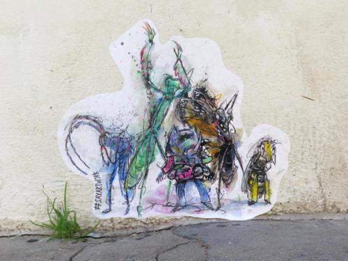 Insectes - Street Art (Paris, 2019)