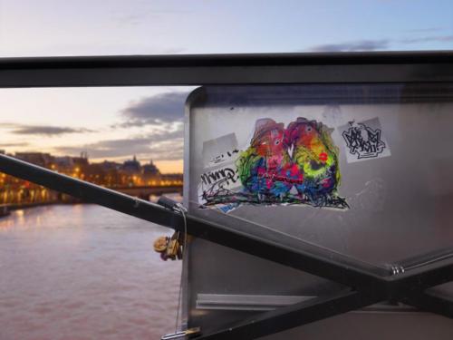 Inséparables - Street Art (Paris, 2019)