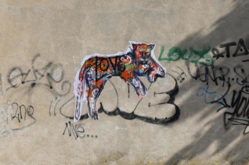 Léopard - Street Art (Livron, 2019)