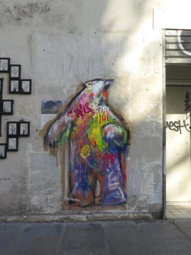 Ours Polaire - Street Art (Paris, 2019)