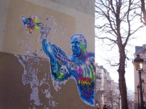 Picasso - Street Art (Paris, 2019)