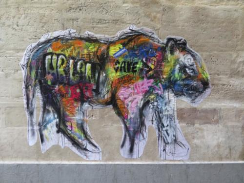 Tigre - Street Art (Paris)