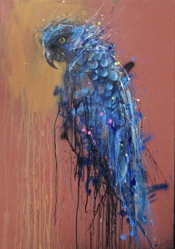 Urban Blue Macaw