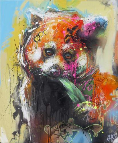 Urban Red Panda